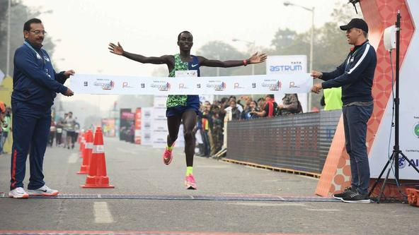 Records tumble as Leonard and Guteni write new event record at TSK 25K