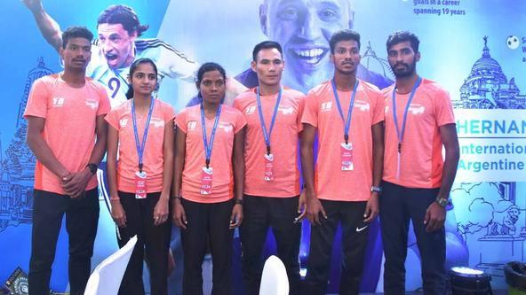 Srinu, local girl Shyamali aim to break course record